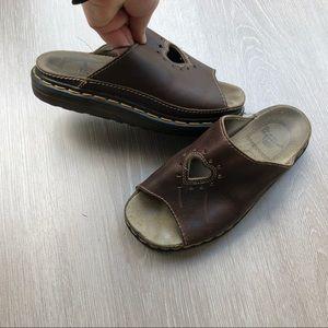 Dr. Martens Vintage Heart Cut Out Chunky Sandal